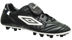 Umbro Speciali A FG Mens Soccer Cleats Black K-Leather (13) New, Made in Italy
