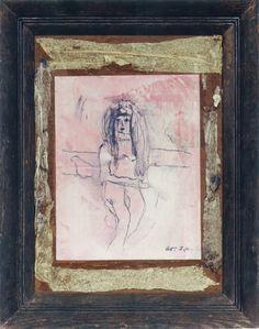 Portrait of Yayoi Kusama by Joseph Cornell, 1965