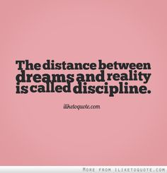 "Discipline = the practice of training... to obey rules or a code of behavior * If you want to get anything done, there are two basic ways to get yourself to do it *. The first, more popular and devastatingly wrong option is to try to motivate yourself. * The second, somewhat unpopular and entirely correct choice is to cultivate discipline. * ""Seek to Serve and Make Every Person Feel Significant :)"" Crush it this week! - JD Esajian, Broker of Realty National San Diego #Discipline #Motivation"