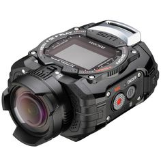 With the Pentax waterproof digital action camera, you'll be taking pictures with great quality and without limits. Technology Gadgets, Tech Gadgets, Security Gadgets, Electronics Gadgets, Gadget Magazine, Web Magazine, Nexus 9, Cameras Nikon, Telephoto Zoom Lens