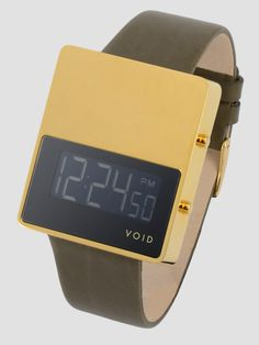 Limited Edition (33 pieces)  Product Code: V01EL18K  Digital LCD Display with Blue-Green EL Backlight  Measurement: W36 x H42 x D9 mm (casing)  Casing material: 316 Stainless Steel  Casing colour / finishing:18K Gold Plated  Strap:PremiumMoss Green Leather (24mm)  Buckle: Stainless Steel 18K Gold Plated  Water Resistance: 3 ATM  Battery Type: CR2016 / 3V    Availability: In Stock  Price: 290€