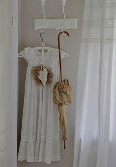 dress and umbrella
