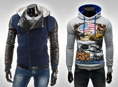 Men's hoodies defeated sweaters, pullovers and jackets transition!