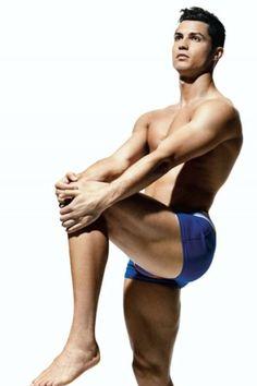 Cristiano Ronaldo in Mens Health Magazine