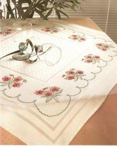 Zweigart Largo Centre Tablecloth-#5399/819 Cross Stitch Embroidery, Cross Stitch Patterns, Knitting Projects, Centre, Crafts, Cross Stitch, Crafting, Handmade Crafts, Cross Stitch Designs