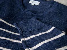 Navy striped cotton sweater by hartford Smart Design, App Design, Create Floor Plan, Navy Stripes, Cotton Sweater, House Design, Mood, How To Plan, Sweaters
