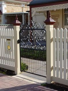 Decorative Wrought Iron Gate Toppers Scrolls And Steel