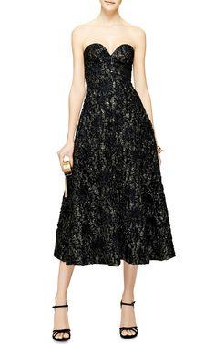 Metallic-Jacquard Dress by Rochas - Moda Operandi