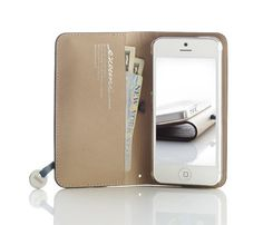 iPhone 5 Leather Wallet - Featured Goods | Uncovet