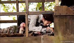 Jamie & Claire from the Outlander series Claire Fraser, Jamie And Claire, Jamie Fraser, Outlander Season 1, Outlander Tv Series, Sam Heughan Caitriona Balfe, Life Is A Journey, Out Of This World, Beautiful Couple