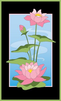 Quiz: How Much Do You Know About Lotus Flower Quilt Pattern? Lotus Flower Art, Lotus Art, Lotus Painting, Fabric Painting, Lotus Kunst, Pichwai Paintings, Hawaiian Quilts, Stained Glass Flowers, Flower Quilts