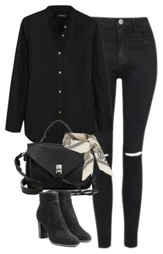 """""""Untitled #4041"""" by keliseblog ❤ liked on Polyvore featuring Topshop, Isabel Marant, Rebecca Minkoff and Sergio Rossi"""