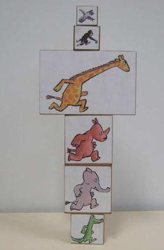 Voici le dernier sac à album de cette période... Pour celui - ci, j'ai trouvé l'idée sur un document d'accompagnement publié par l'Ecole des Loisirs... En petit plus, je propose un jeu de 6 cubes avec les personnages de l'histoire collés dessus. Cela... La Petite Taupe, Album Jeunesse, Kindergarten, Document, Art Education, Voici, Preschool, Cubes, Books