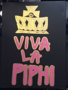 Pi Beta Phi 16x20 Viva La Pi Phi Sorority Canvas by ranjela, $20.00