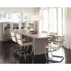 Corbett Extension Dining Table - Modern Dining Tables - Modern Dining Room Furniture - Room & Board