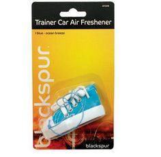 Trainer Car Freshener Blue Ocean Breeze