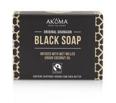 AKOMA Ghanaian Black Soap with Organic Shea Butter