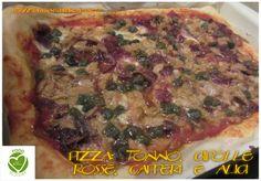 Tra Cucina e Giardino: 1) Pizza: tonno, cipolle rosse, capperi e alici. 2...