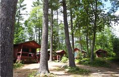 cabins, Kingsley Pines, Maine