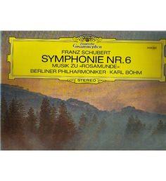 2530 422 Schubert Symphony 6 Rosamunde BPO Karl Bohm