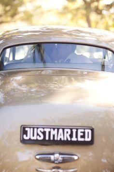 Classic getaway car