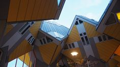Cube house in Amsterdam