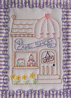 The cake shop - I have a lot of inspiration from looking at this
