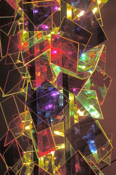 Radiant plexiglass lamp
