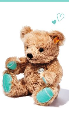 Cuddle up with an especially soft gift for Valentine's Day. Tiffany E Co, Tiffany Jewelry, Tiffany Room, Saint Valentine, Valentine Gifts, Tiffany Blue Color, Teddy Bear Toys, Teddy Bears, 26th Birthday
