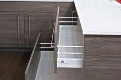 Lava Melamine Kitchen Cabinets, Drawers
