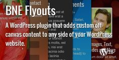 Flyouts - Off Canvas Custom Content for WordPress - https://codeholder.net/item/wordpress/flyouts-off-canvas-custom-content-wordpress