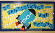 Middle School Math Classroom Ideas Test taking bulletin board Counseling Bulletin Boards, Spring Bulletin Boards, Classroom Bulletin Boards, Math Classroom, Classroom Ideas, Math Boards, Future Classroom, Motivational Bulletin Boards, Elementary Counseling