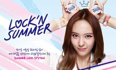 Kaowaii Stage ~ Beauty Blog: ETUDE HOUSE Summer 2014 *Lock 'n' Summer