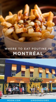 Poutine—piping-hot, crispy french fries covered with fresh cheese curds and smothered in gravy—is the unofficial food of Québec. You'll find it on menus throughout the province, but if you're looking for the best poutine in Montréal, here's where to go.