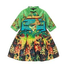 22.70$  Watch now - http://alir0h.shopchina.info/1/go.php?t=32676564218 - 2016 New European&chinese style kids dresses summer autumn half dresses for girls fashion 2-10T print child clothes dresses 22.70$ #shopstyle