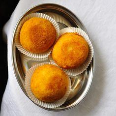 Rezept von Cettina Vicenzino: Arancini bianchi – Reisbällchen mit Käsefüllung