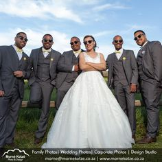 Bride posing with bestman and groomsmen against wooden fence in beautifull field. #bride #bestman #groomsmen #weddingcouple #justmarried #wedding #weddingphotography #weddingphotographer #weddinginspiration #beautifulbride Please like and repin. Also visit my website above for more photos and have a look at what I do. Please go and follow and like me on Facebook and Instagram Wooden Fence, Just Married, More Photos, Wedding Couples, Formal Dresses, Wedding Dresses, Beautiful Bride, Groomsmen, Wedding Inspiration