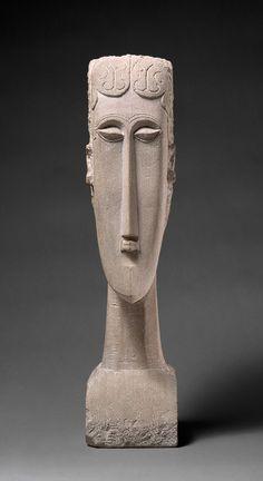 Womans Head, 1912, Amedeo Modigliani, The Metropolitan Museum of Art