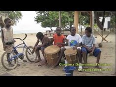Tribal Music, Drumming and Dance Traditions - Garifuna Kids in Belize  Check it out: http://travelexperta.com/2012/05/swimming-with-sharks-in-belize-video-of-the-week.html#