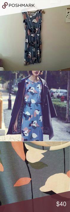 Boden blackberry dress Worn once,  really feminine. Boden Dresses