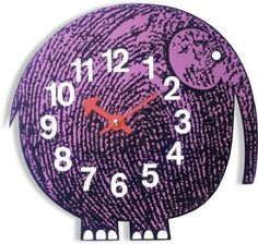 L'éléphant Clock....
