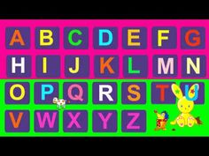 chanson de l'Alphabet, en français - The French alphabet song!  Frenchy Bunny