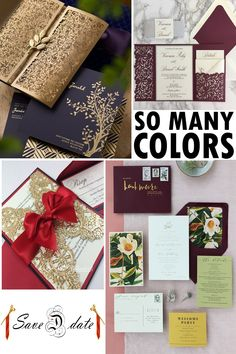 Create Your Very Own Customized Invitation Suite Today! Fresh New Styles For 2020 Unique Wedding Stationery, Wedding Invitation Trends, Laser Cut Wedding Invitations, Invitation Suite, Invitation Design, Create Invitations, Custom Invitations, Store Design, Create Yourself