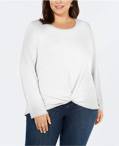 74fe92ee63bcc 1 STATE 1.State Ruffle Sleeve Rib Knit Top