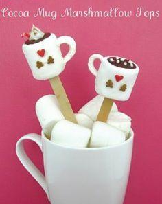 Marshmallow Pops pronti da regalare! O da mangiare!