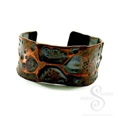 Individually Crafted Air Chased Cuff Suitable for Men & Women. #Handmade in #Stamford #Lincolnshire