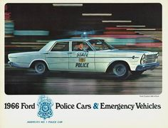 1966 Ford Police Cars & Emergency Vehicles