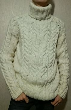 Wool sweaters for men Aran sweater Mens sweaters Knit image 5 Aran Sweaters, Hand Knitted Sweaters, Pull Aran, Cable Knitting Patterns, Crochet Cardigan Pattern, Carpe Diem, Men Sweater, Etsy, Renewable Energy