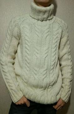 "Buy Knitted warm sweater ""Marko"" - men's, scandinavian, sweater, knitted, knit, knitted sweater"