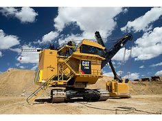 Cat | 7495 Electric Rope Shovel | Caterpillar